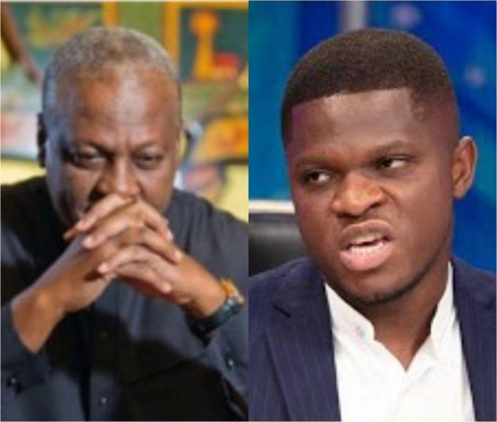 You Are Aware: Tell Him The Truth And Stop That - Dela Coffie Exposes Mahama For Using Sammy Gyamfi