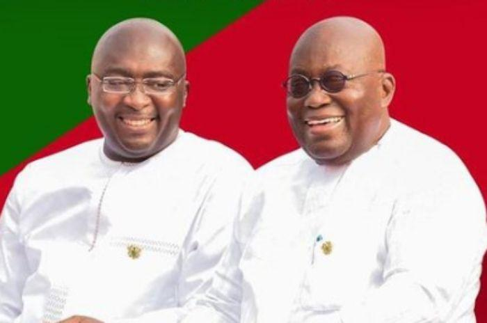 Akufo Addo and Bawumia