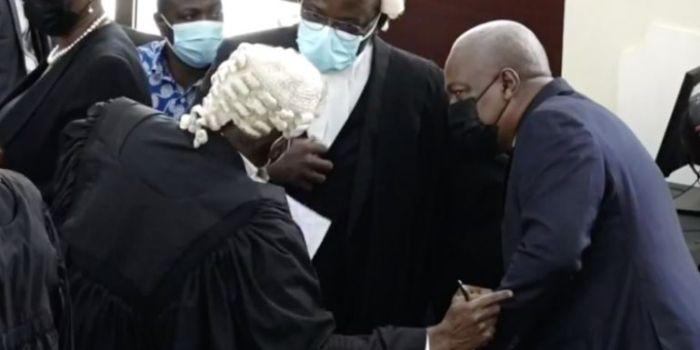 Mahama's Lawyers told to be serious at court