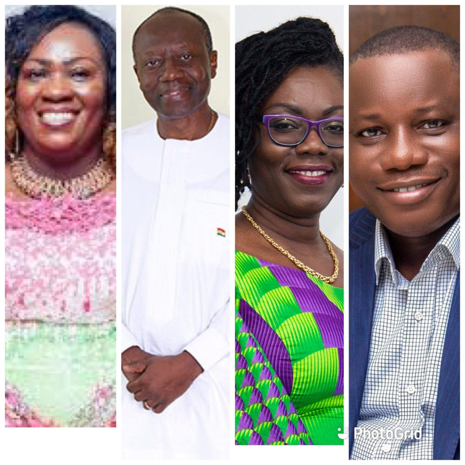 Akufo Addo swear in new ministers
