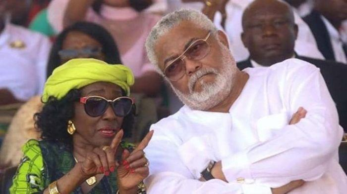 Nana Konadu Agyemang Rawlings Stopped Me From Smoking With Rawlings - Popular Highlife Legend Reveals