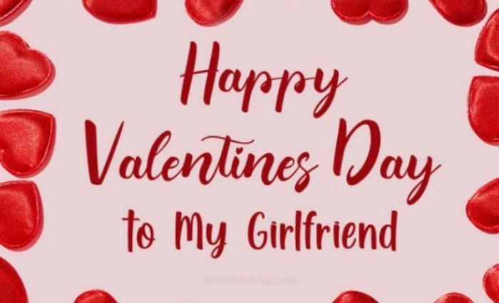 20 Valentine Messages For Your Lovely Girlfriend