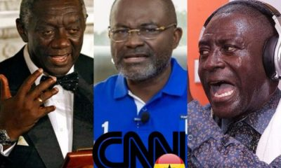 You Are Ungrateful Being,Kufuor Made You Rich With GH¢80million contract – Captain Smart Hits Kennedy Agyapong Another With Blow