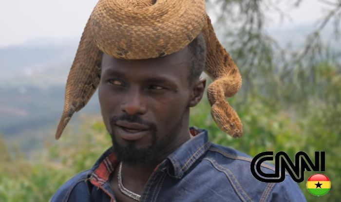 Meet The African Man Who Makes Love With Snakes - Watch Video